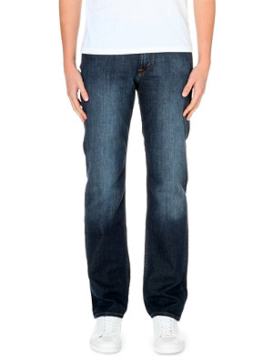 7 FOR ALL MANKIND Slimmy south night slim-fit stretch-denim jeans