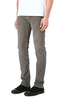 7 FOR ALL MANKIND Slimmy slim-fit straight cashmere jeans