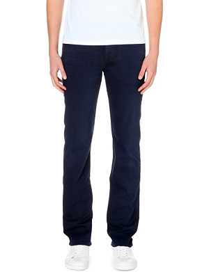 7 FOR ALL MANKIND Slimmy luxe performance slim-fit stretch-denim jeans