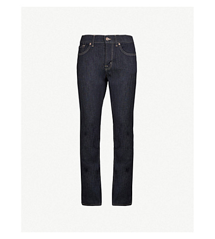 7 FOR ALL MANKIND Slimmy slim-fit tapered jeans (Rinse