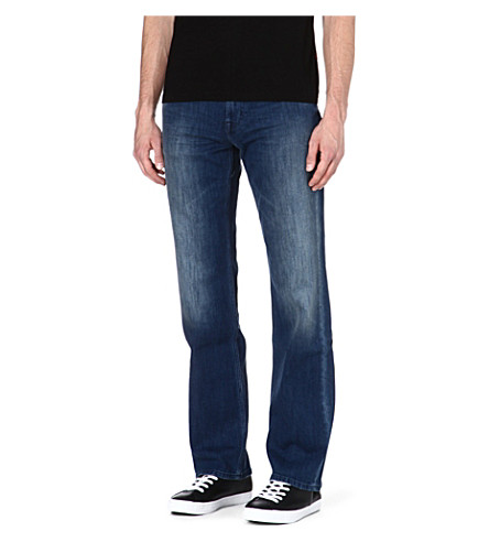 7 FOR ALL MANKIND Austyn relaxed straight-leg jeans (Blue
