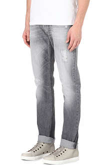 7 FOR ALL MANKIND Chad Storm Sky slim-fit straight jeans
