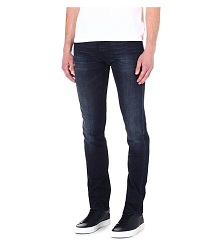 7 FOR ALL MANKIND Chad slim-fit tapered jeans (Blue
