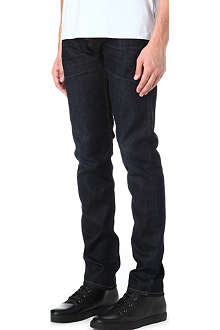 7 FOR ALL MANKIND Chad black night jeans
