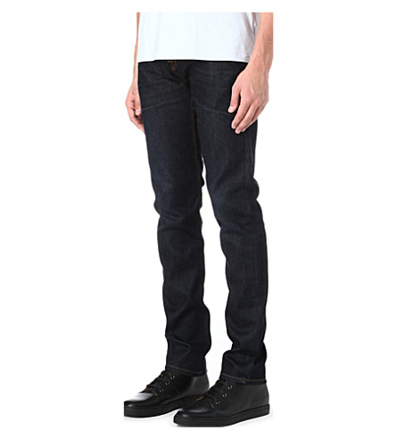 7 FOR ALL MANKIND Chad black night jeans (Black