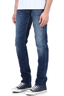 7 FOR ALL MANKIND Chad Bleu Sahara slim-fit straight jeans