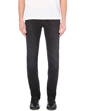 7 FOR ALL MANKIND Stretch-denim slim-fit tapered jeans