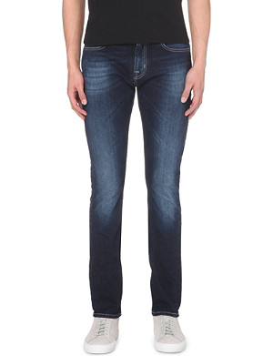 7 FOR ALL MANKIND Ronnie slim-fit mid-rise jeans