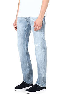 7 FOR ALL MANKIND Modern Rock straight regular-fit jeans