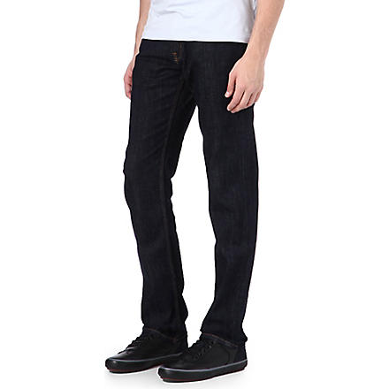 7 FOR ALL MANKIND Hollywood regular-fit straight jeans (Indigo