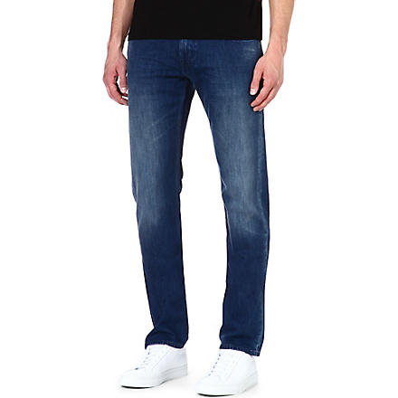 7 FOR ALL MANKIND The Straight regular-fit straight-leg jeans (Blue