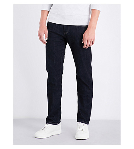 7 FOR ALL MANKIND The Straight slim-fit straight jeans (Ny+rinse