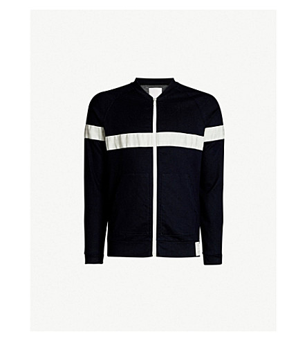 REPLAY Sports Lab jersey-denim jacket (Blue