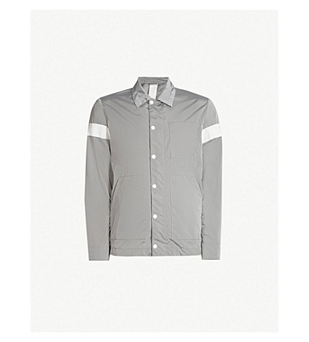 REPLAY Sports Lab shell jacket (Silver