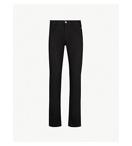 REPLAY Anbass slim-fit skinny jeans (Black