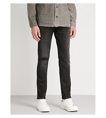 REPLAY Anbass Hyperflex slim-fit skinny jeans (Black