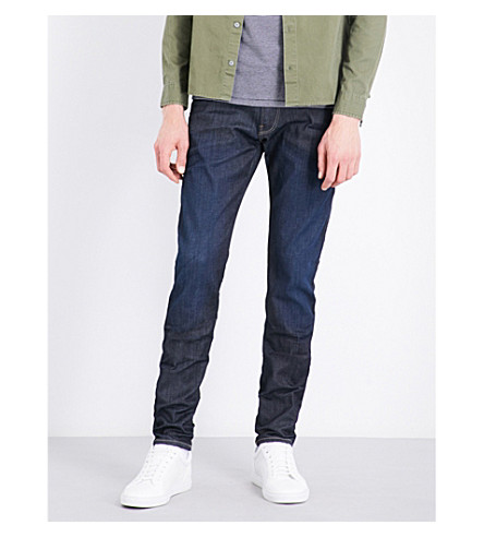 REPLAY Anbass Hyperflex skinny-fit jeans (Rinse
