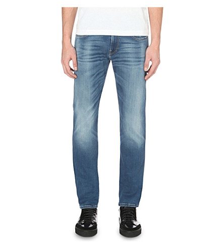 REPLAY Anbass hyperflex slim-fit skinny jeans (Blue