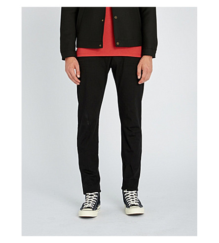 REPLAY Anbass slim-fit skinny jeans (Coated black