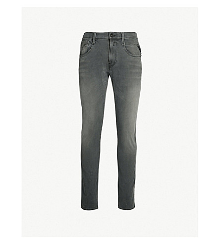 REPLAY Anbass slim-fit jeans (Mid grey