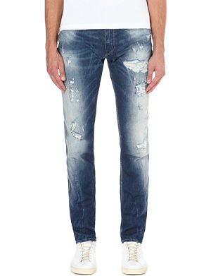 REPLAY Anbass slim-fit straight jeans