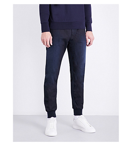 REPLAY Hyperfree skinny denim joggjeans (Dark+blue