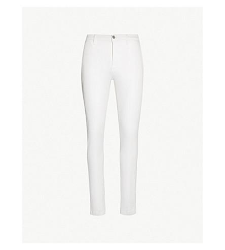 REPLAY Zeumar slim-fit skinny chinos (White