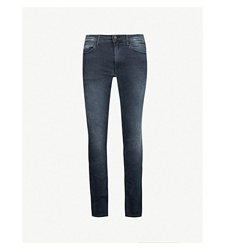 REPLAY Jondrill slim-fit skinny jeans (Blueblack