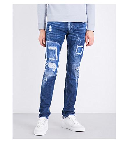 REPLAY Jondrill slim-fit skinny jeans (Mid+blue