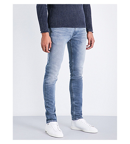 REPLAY Jondrill slim-fit skinny jeans (Petrol+blue