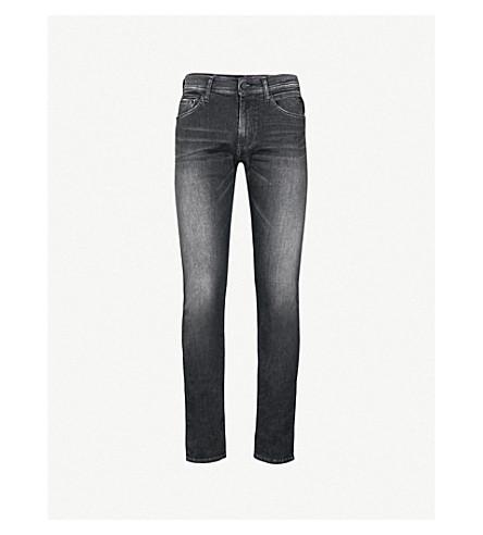 REPLAY Jondrill slim-fit skinny jeans (Washed+black