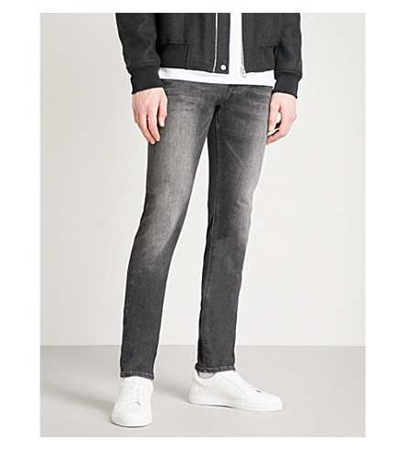 REPLAY Jondrill slim-fit skinny jeans (Washed+black