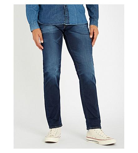 REPLAY Grover Hyperflex regular-fit straight jeans (Dark blue