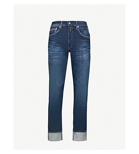 REPLAY Grover slim-fit jeans (Mid+blue