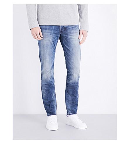 NEUW Lou slim-fit tapered jeans (Biker+wash