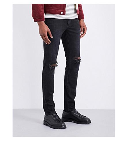 NEUW Iggy distressed slim-fit skinny jeans (Black+horizon+2914