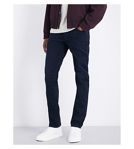 NEUW Lou slim-fit tapered mid-rise jeans (Contol+2929