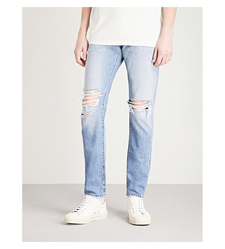 NEUW Lou slim-fit tapered jeans (Sthlm+broken