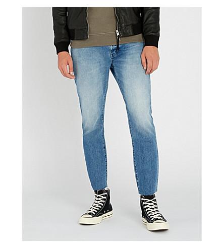 NEUW Lou slim-fit skinny cropped jeans (Solar+blue