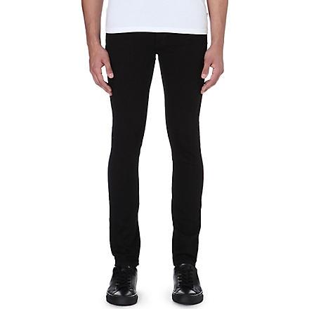 NEUW Hell super-skinny straight jeans (Black