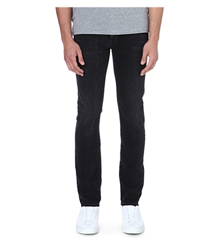 NEUW Iggy skinny-fit straight jeans (Black