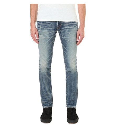 MASTERCRAFT UNION Slim-fit tapered jeans (Indigo