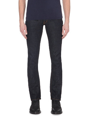 MASTERCRAFT UNION Slim-fit mid-rise jeans