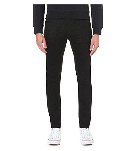 NEUW Iggy skinny tapered jeans (Black