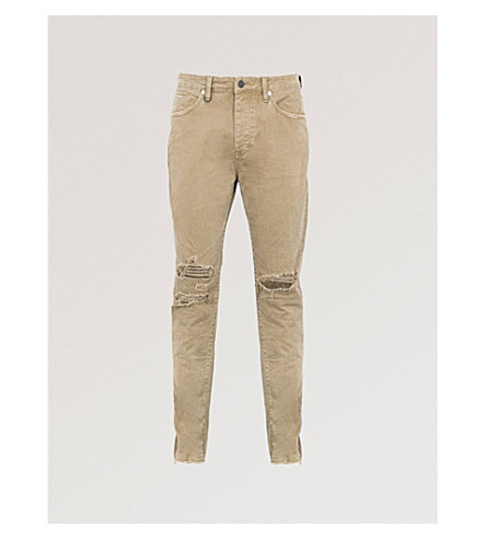NEUW Ray slim-fit tapered jeans (Busted+military