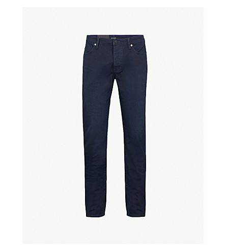 NEUW Lou slim-fit tapered jeans (Deep+navy