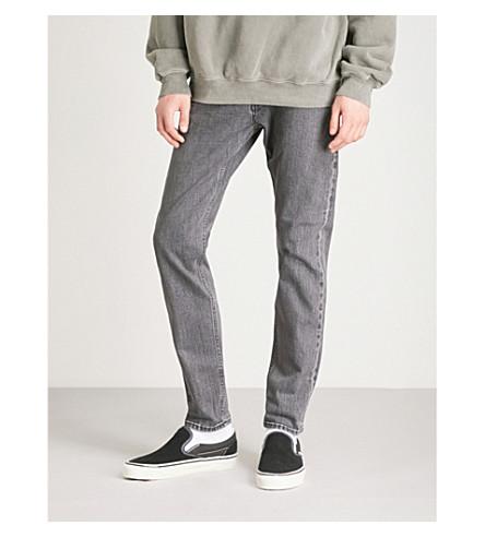 NEUW娄瘦瘦牛仔裤 (灰 + 边缘