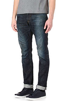 PRPS Fury relaxed-fit tapered selvedge jeans