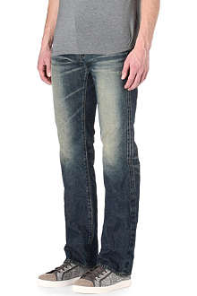 PRPS Barracuda regular-fit straight selvedge jeans