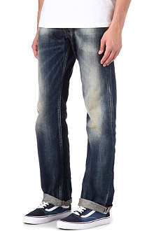 PRPS Barracuda regular-fit straight dirty jeans